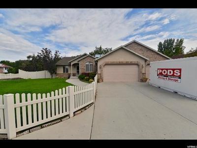 West Jordan Single Family Home Under Contract: 3178 W Alberta Pl S