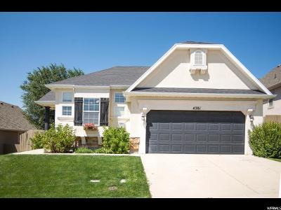 Lehi Single Family Home For Sale: 4381 N Chestnut Oak Dr