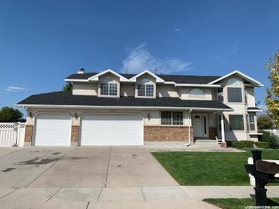 South Jordan Single Family Home For Sale: 1466 W Kodiak Creek Ct S