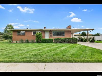 Orem Single Family Home Under Contract: 296 E 1864 S