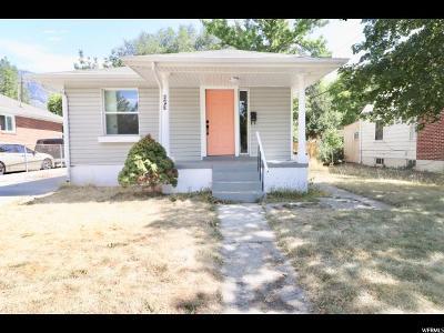 Provo Single Family Home Backup: 445 S 100 E