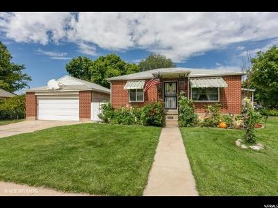 South Ogden Single Family Home For Sale: 598 E Leona Dr