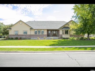 Nibley Single Family Home Under Contract: 3598 S 450 W