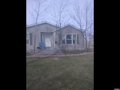 Delta UT Single Family Home For Sale: $160,000