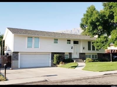 Orem Single Family Home For Sale: 824 W 1440 N