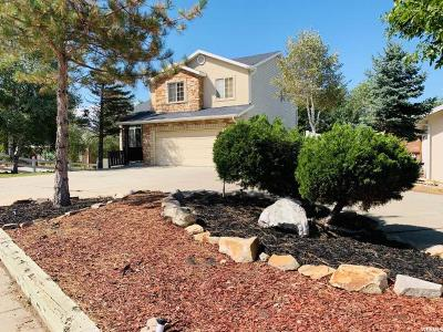 Bountiful Single Family Home For Sale: 1518 Orchard Dr E