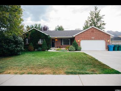 Cedar Hills Single Family Home Under Contract: 4436 W Cambridge Dr