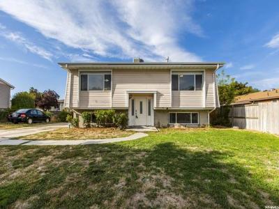 West Jordan Single Family Home For Sale: 3464 W 8280 S