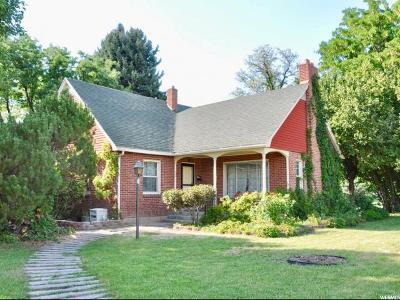 Orem Single Family Home Under Contract: 624 S 400 E