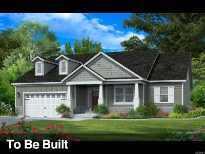 West Jordan Single Family Home For Sale: 9133 S Plume Ct W