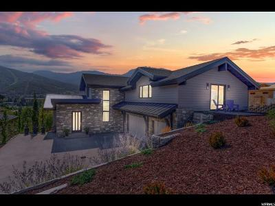 Park City Single Family Home For Sale: 925 Saddle View Way