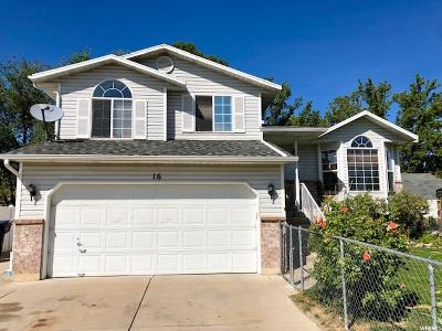 Clearfield Single Family Home For Sale: 16 W 1900 S