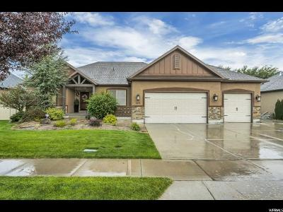 Lehi Single Family Home For Sale: 1025 W 3020 N