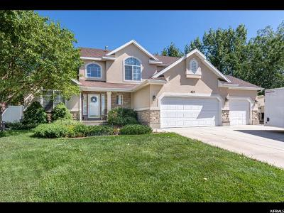 Clearfield Single Family Home For Sale: 463 E E. 1900 S