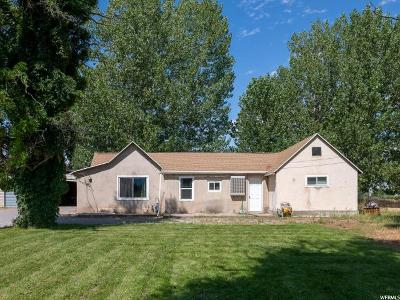 Spanish Fork Single Family Home For Sale: 8282 S State Rd