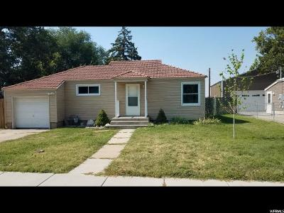 Clearfield Single Family Home For Sale: 584 E Maple St. S