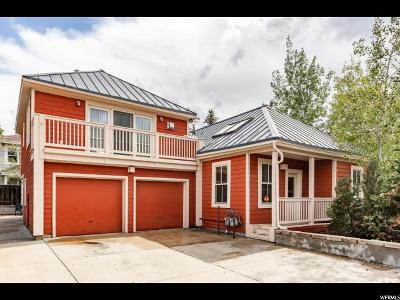 Park City Single Family Home For Sale: 1488 Park Ave