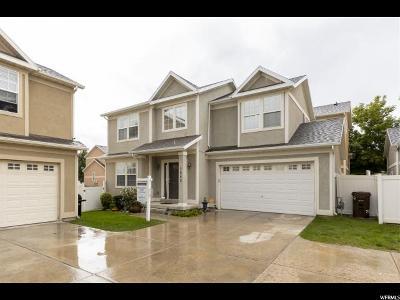 West Jordan Single Family Home Under Contract: 7652 S Yellowwood Ln W