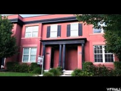 South Jordan Townhouse For Sale: 10649 S Oquirh Lake Rd W