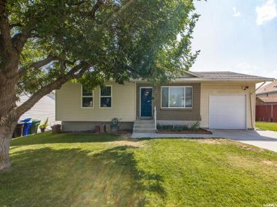 West Jordan Single Family Home For Sale: 5483 W Balsa Ave