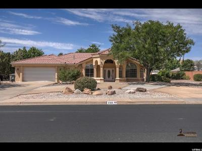 St. George Single Family Home For Sale: 3566 S 1550 W
