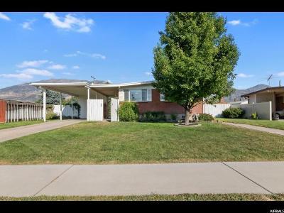 Orem Single Family Home For Sale: 1447 S 760 E