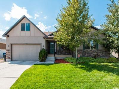 West Jordan Single Family Home For Sale: 8482 S Spiral Jetty Cir W