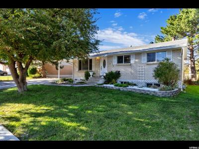 West Jordan Single Family Home For Sale: 1616 Rundquist Dr
