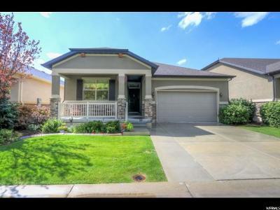 South Jordan Single Family Home For Sale: 11144 S Heather Grove Ln W #37