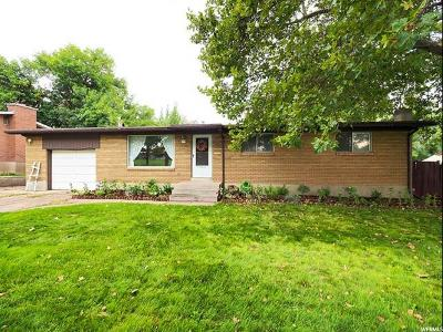 Roy Single Family Home For Sale: 2275 W 5900 S