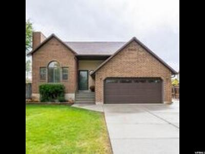 West Jordan Single Family Home For Sale: 3335 W 6880 S