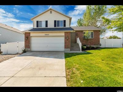 West Jordan Single Family Home For Sale: 5967 W Jackling Way S