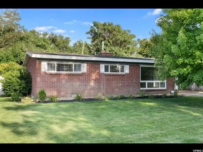 Bountiful Single Family Home For Sale: 353 S 285 W