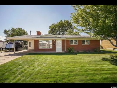 Roy Single Family Home Under Contract: 1975 W 4975 S