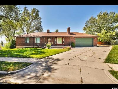 Layton Single Family Home For Sale: 871 E 3350 N