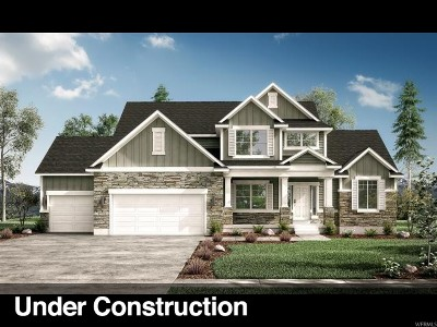 West Jordan Single Family Home Under Contract: 6657 W Earligrande Way