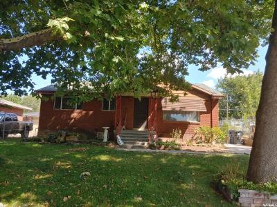 South Ogden Single Family Home For Sale: 3898 Orchard