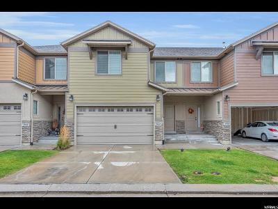 South Jordan Townhouse For Sale: 3964 W Sage Blossom Way