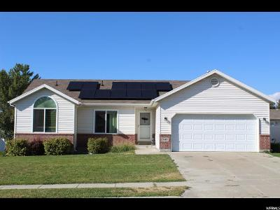 Roy Single Family Home For Sale: 2614 W 4050 S