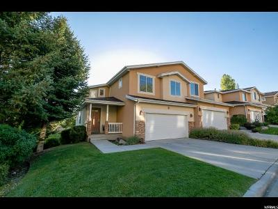 Provo Townhouse For Sale: 1268 S Alpine Way