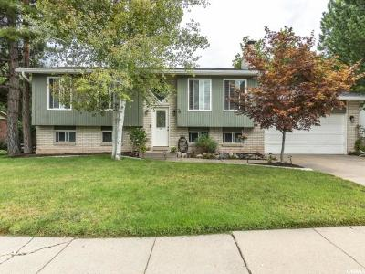 Kaysville Single Family Home For Sale: 76 W 600 N