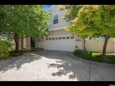 West Jordan Single Family Home For Sale: 6729 W Tupelo Ln S