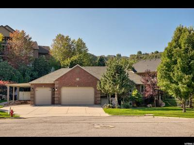 South Weber Single Family Home Under Contract: 2519 E 8125 S