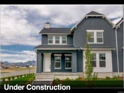 South Jordan Single Family Home For Sale: 11531 S Mt. Airy Dr W #164