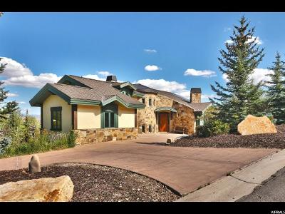 Park City Single Family Home For Sale: 4671 Nelson Ct