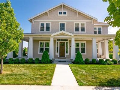 South Jordan Single Family Home For Sale: 4349 W Blackshear Dr