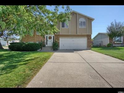 Roy Single Family Home Under Contract: 5834 S 3200 W