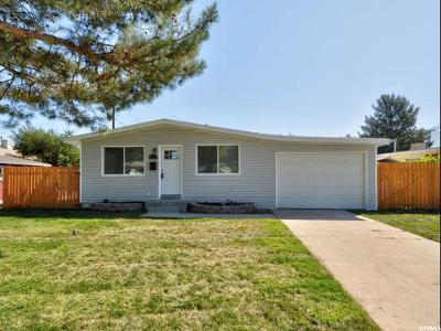 Midvale Single Family Home For Sale: 8213 S Harrison