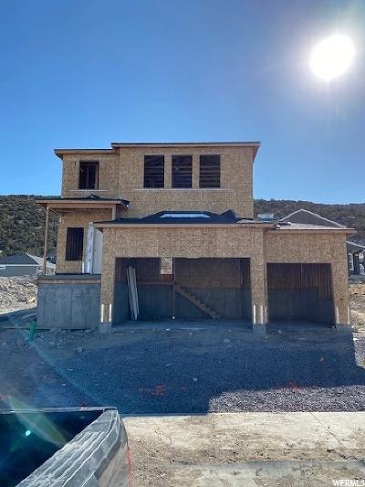 Eagle Mountain Single Family Home For Sale: 3712 E Long Ridge Dr #124