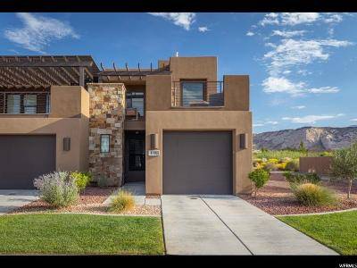 St. George Townhouse For Sale: 1610 W Canyon Tree Dr